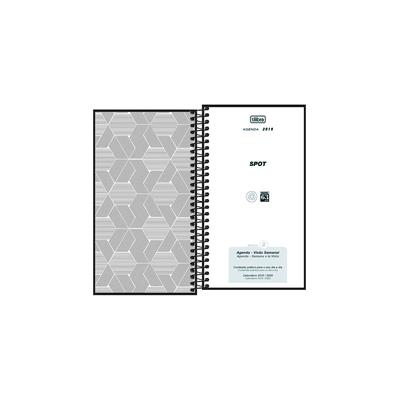 Agenda-Executiva-Tilibra-Espiral-Spot-Preta-de-Bolso