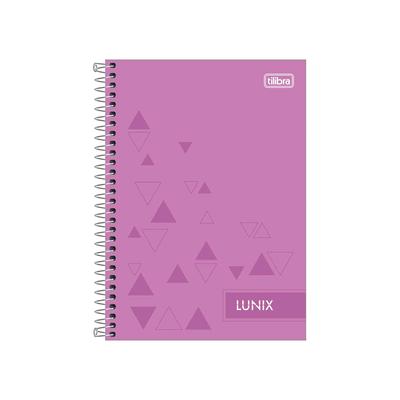Caderno-Tilibra-Espiral-Capa-Dura-1-4-Linux-80-Folhas-Capas-Diversas
