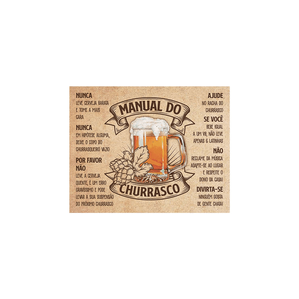 Quadro-Litoart-MDF-Cerveja-19x24x18cm