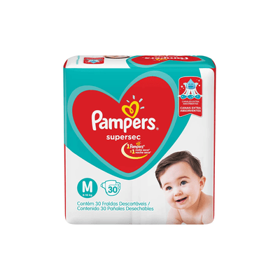 Fralda-Descartavel-Pampers-Supersec-Mega-Tamanho-M-com-30-Unidades