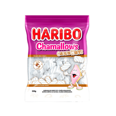 Marshmallow-Cables-White-Haribo-250g
