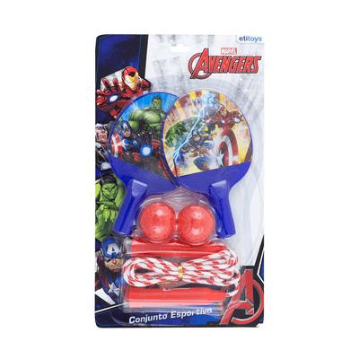 Kit-Ping-Pong-e-Corda-Etilux-Avengers