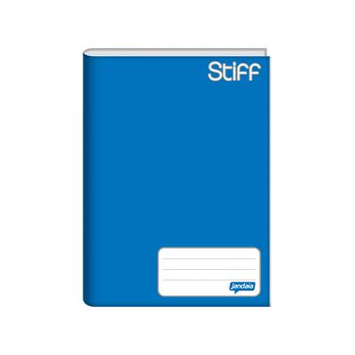 Caderno-Jandaia-Brochura-Capa-Dura-1-4-Azul-96-Folhas