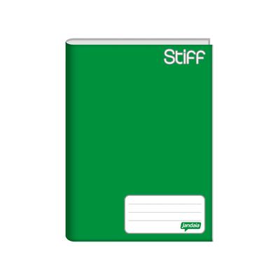 Caderno-Jandaia-Brochura-Capa-Dura-1-4-Verde-96-Folhas