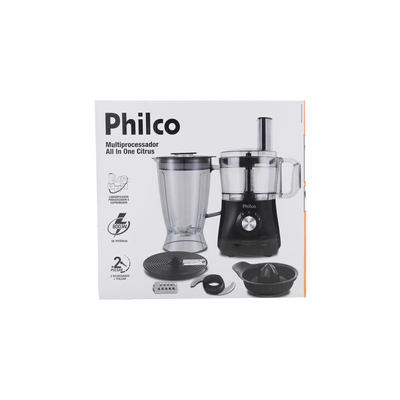 Multiprocessador-Philco-All-in-One-Preto-127V