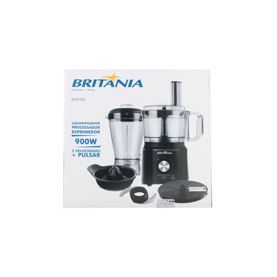 Multiprocessador-Britania-All-in-One-Preto-127V