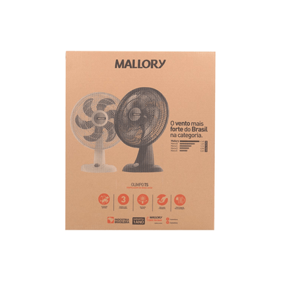Ventilador-de-Mesa-Mallory-Olimpo-TS-40cm-Preto-127V