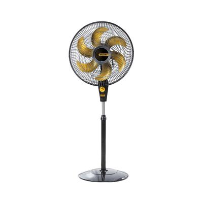 Ventilador-de-Coluna-Mallory-Delfos-Preto-e-Dourado-220V