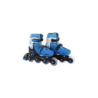 Patins-Le-com-3-Rodas-Azul-Tamanho-31-a-34