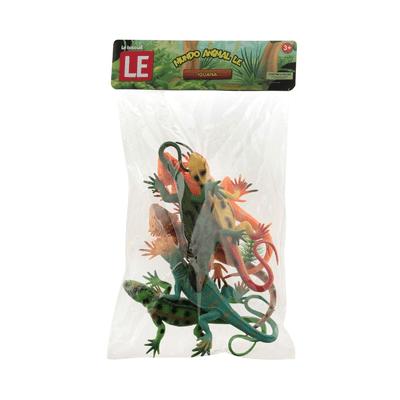 Iguana-Le-com-6-Pecas