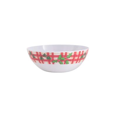 Bowl-de-Natal-Le-Melamina-Christmas-Green
