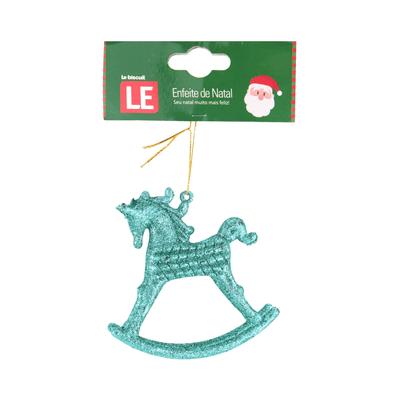 Enfeite-para-Arvore-de-Natal-Le-Unicornio-Gliter-Azul