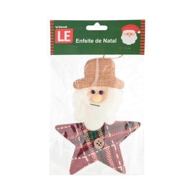 Enfeite-para-Arvore-de-Natal-Le-Rostinho-Xadrez-14cm