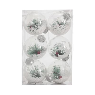 Bola-de-Natal-Le-Cristal-com-Ramo-8cm-com-6-Unidades