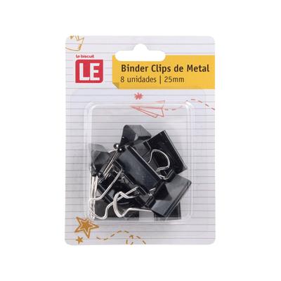 Binder-Clip-Le-25mm-com-8-Unidades-Cores-Diversas