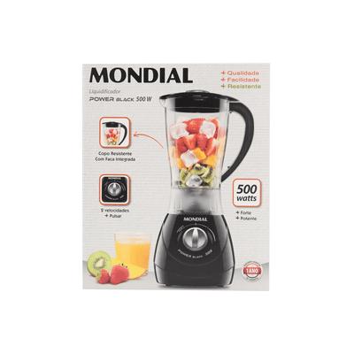 Liquidificador-Mondial-L28-Preto-220V