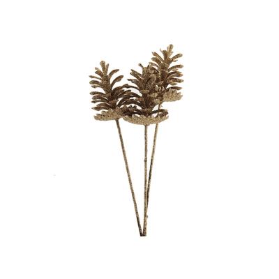 Pick-Natalino-Grillo-Pinha-28cm-Dourado