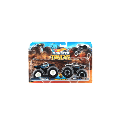 Carro-Hot-Wheels-Monster-Trucks-com-2-Carros