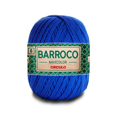 Barbante-Barroco-Maxcolor-226m-Nº4-6-2829-Azul-Bic