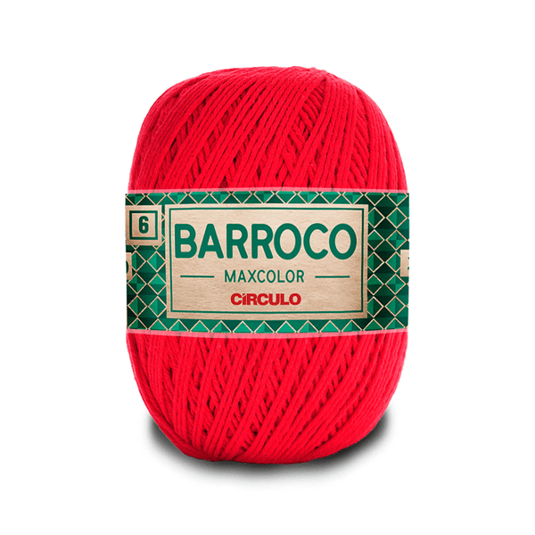Barbante-Barroco-Maxcolor-226m-Nº4-6-3501-Vermelho-Malagueta