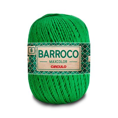 Barbante-Barroco-Maxcolor-226m-Nº4-6-5767-Verde-Bandeira