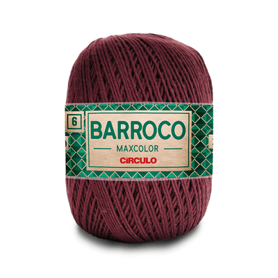 Barbante-Barroco-Maxcolor-226m-Nº4-6-7311-Tabaco