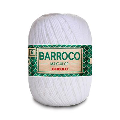 Barbante-Barroco-Maxcolor-226m-Nº4-6-8001-Branco