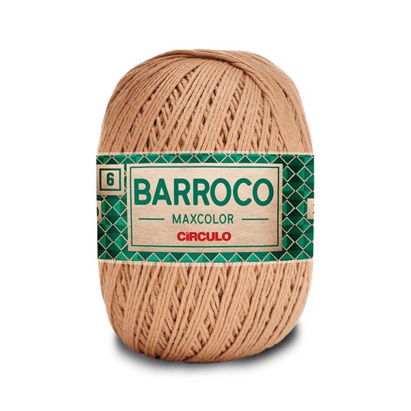 Barbante-Barroco-Maxcolor-226m-Nº4-6-7625-Castanho