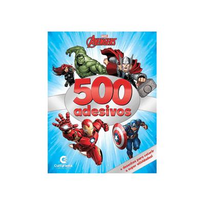 Livro-Infantil-Culturama-500-Adesivos-Marvel-Vingadores