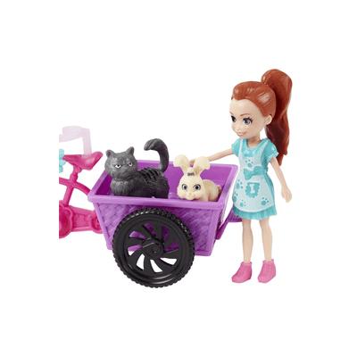 Boneca-Polly-Pet-Trycicle