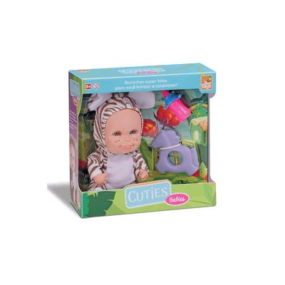 Boneca-Bee-Toys-Cuties-Filhotes