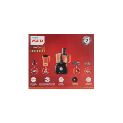 Multiprocessador-Philips-Walita-Viva-Collection-Preto-127V