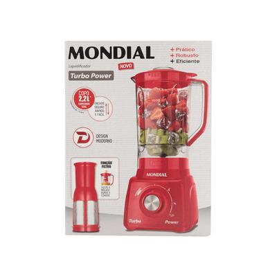 Liquidificador-Mondial-L-99-FR-Vermelho-127V