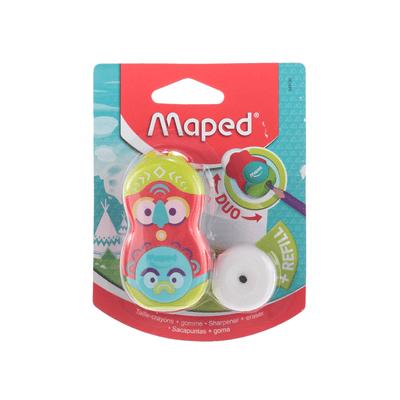 Apontador-Duo-Maped-Totem-com-Borracha