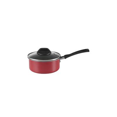 Panela-Brinox-Garlic-Antiaderente-16cm-1.2L-Vermelha