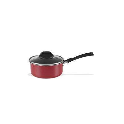 Panela-Brinox-Garlic-Antiaderente-20cm-2.5L-Vermelha