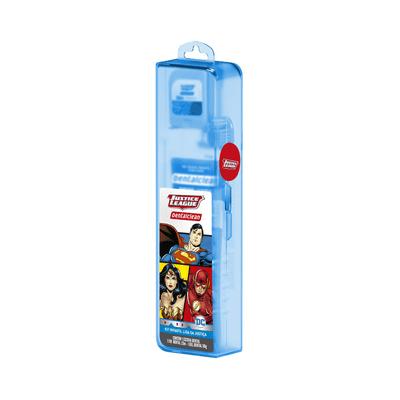 Kit-Dentalcelan-Infantil-Herois-com-Escova-Dental.-Creme-Dental-e-Fio-Dental