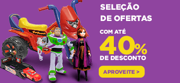 Brinquedos | Banner 40%
